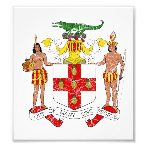 Jamaica Coat Of Arms Photo Print