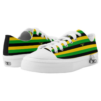 Jamaica Colors Flag Designer Modern Shoes Sale