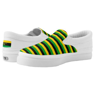 Jamaica Colors Flag Designer Modern Vacation Shoes Printed Shoes