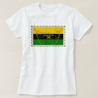 Jamaica Colours Humming Birds Stamp T-Shirt