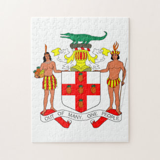 Jamaica Crest of Arms. Jigsaw Puzzle