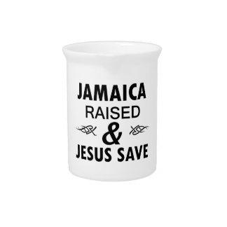 Jamaica designs pitcher