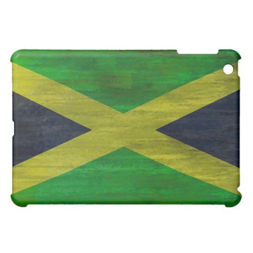 Jamaica distressed flag iPad mini cover