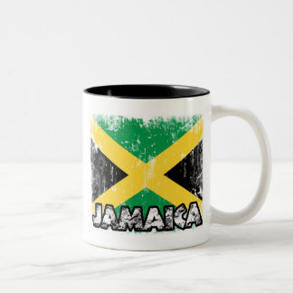 Jamaica - Distressed Flag Mug
