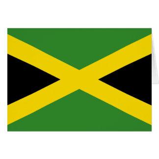 Jamaica Flag Card