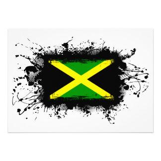 Jamaica Flag Custom Invitation