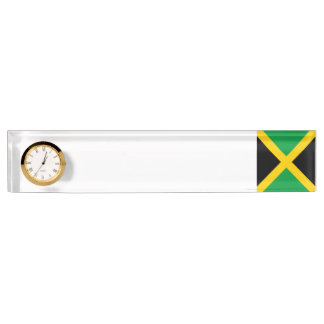 Jamaica Flag Desk Name Plate