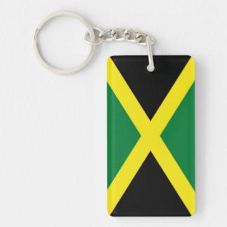Jamaica Flag Key Ring