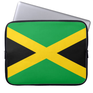 Jamaica Flag Laptop Sleeve