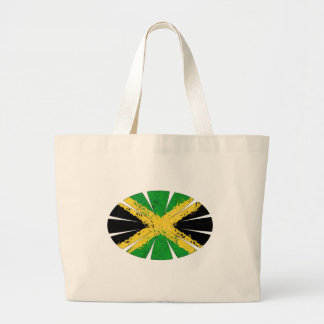 JAMAICA FLAG LARGE TOTE BAG