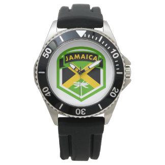 Jamaica Flag Logo Style Watch