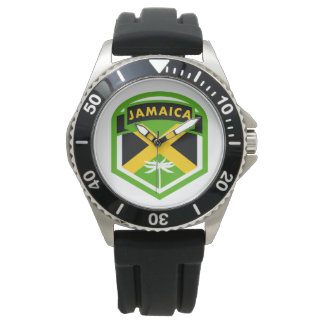 Jamaica Flag Logo Style Watches