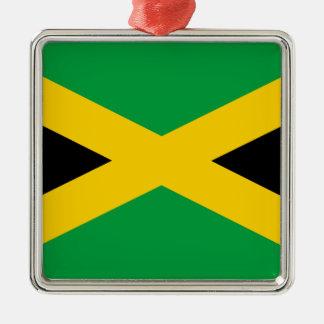 Jamaica flag metal ornament