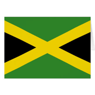 Jamaica Flag Note Card