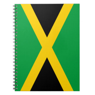 Jamaica Flag Notebook