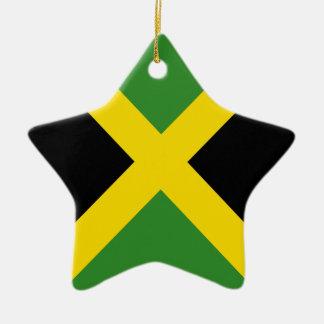 Jamaica flag  products ceramic ornament