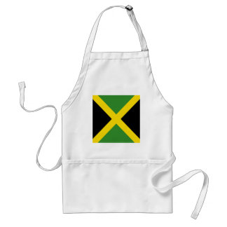 Jamaica flag  products standard apron