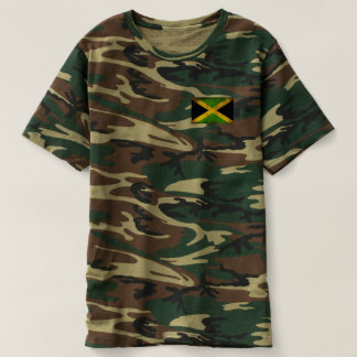 Jamaica flag - Proud Jamaicans - Jah Army shirt