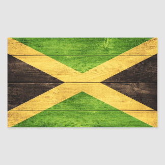 Jamaica flag - Proud Jamaicans - Rasta Sticker