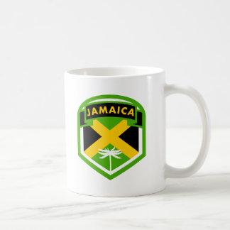 Jamaica Flag Shield Style Coffee Mug