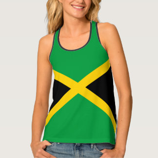 Jamaica flag shirt tank top