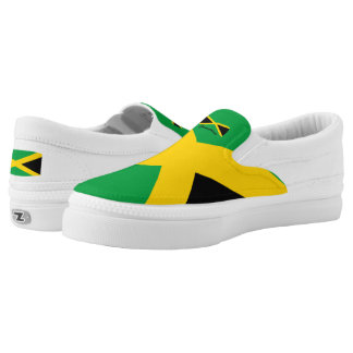 Jamaica Flag Slip-On Shoe(2) Printed Shoes