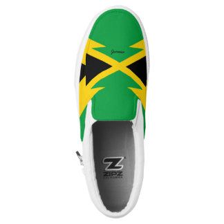 Jamaica Flag Slip-On Shoe(3) Printed Shoes