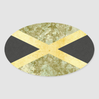 Jamaica  Flag Stickers