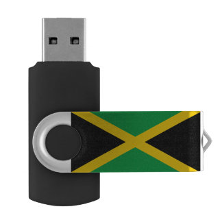 Jamaica Flag USB Flash Drive