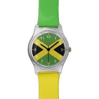 Jamaica Flag Wrist Watches