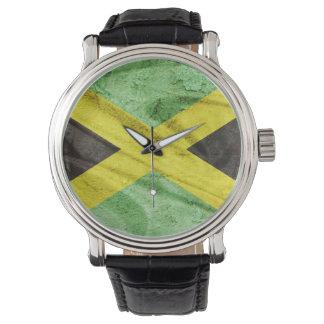 Jamaica flag wristwatch