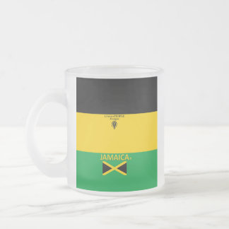 Jamaica Frosted Glass Frosted Glass Coffee Mug
