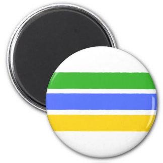 Jamaica hand drawn Plastic button 6 Cm Round Magnet