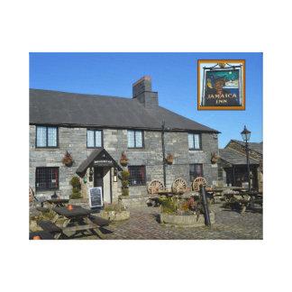 Jamaica Inn Bodmin Moor Cornwall England Canvas Prints