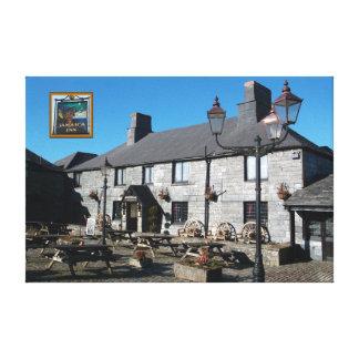 Jamaica Inn Bodmin Moor Cornwall England Gallery Wrap Canvas