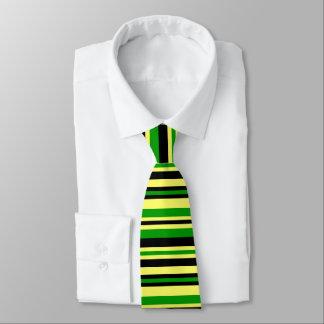 Jamaica Inspired Stripes Tie