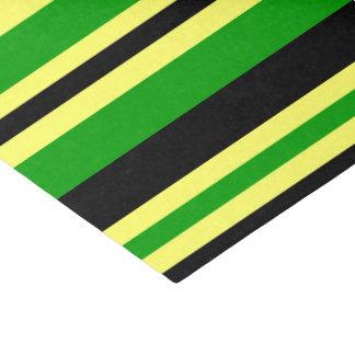 Jamaica Inspired Stripes Tissue Paper