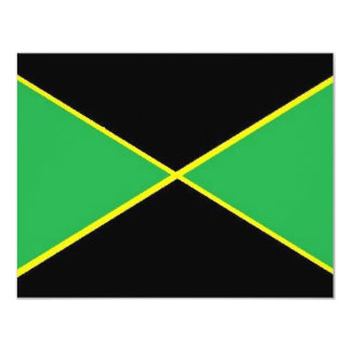 "Jamaica 4.25"" X 5.5"" Invitation Card"