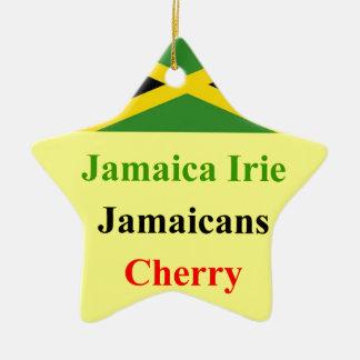 Jamaica irie ceramic ornament