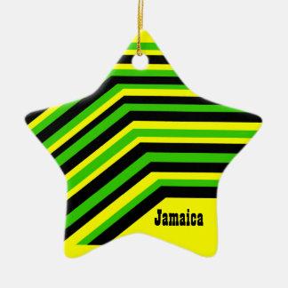 Jamaica jamaica ceramic ornament