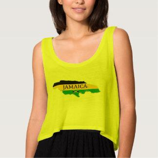 Jamaica Map Designer Name-Brand T-Shirt