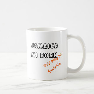 JAMAICA MI BORN COFFEE MUG