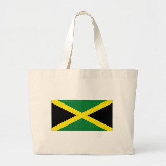 Jamaica National Flag Canvas Bags