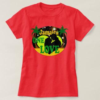 Jamaica One Love Sunset Stars Honeymoon T-Shirt