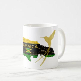 Jamaica Parishes Colours Gold Humming Bird Mug