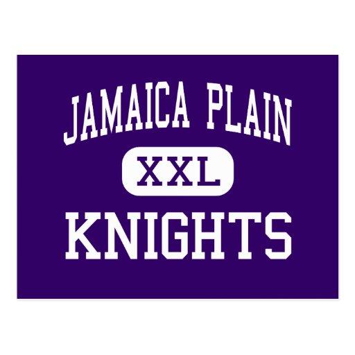 Jamaica Plain - KNIGHTS - High - Boston Post Cards