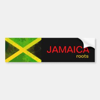 Jamaica roots bumper sticker