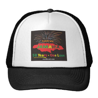 Jamaica s 50th Anniversary by Roxanne Swellhead Hat