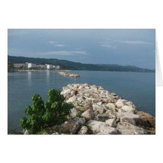 Jamaica Sea View Card