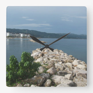 Jamaica Sea View Clock